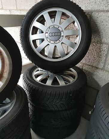 Audi A4 gebruikte wielen set