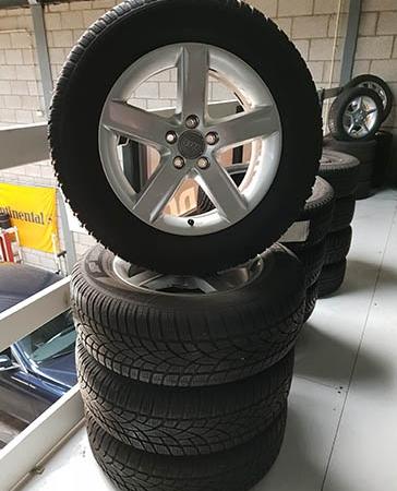 Audi Q5 set gebruikte velgen