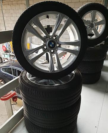 BMW gebruikte wielen set mak