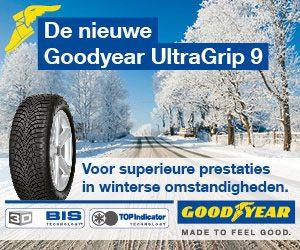 nieuwe goodyear ultragrip9 winterbanden