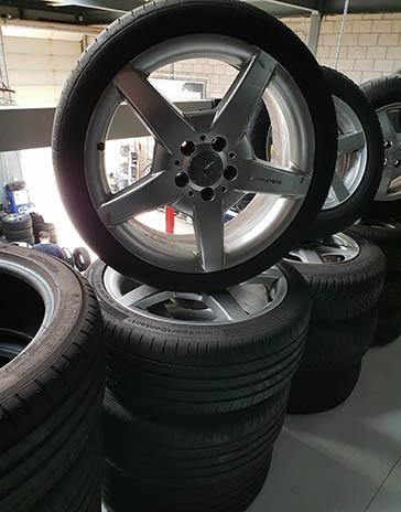 Set gebruikte velgen Mercedes AMG